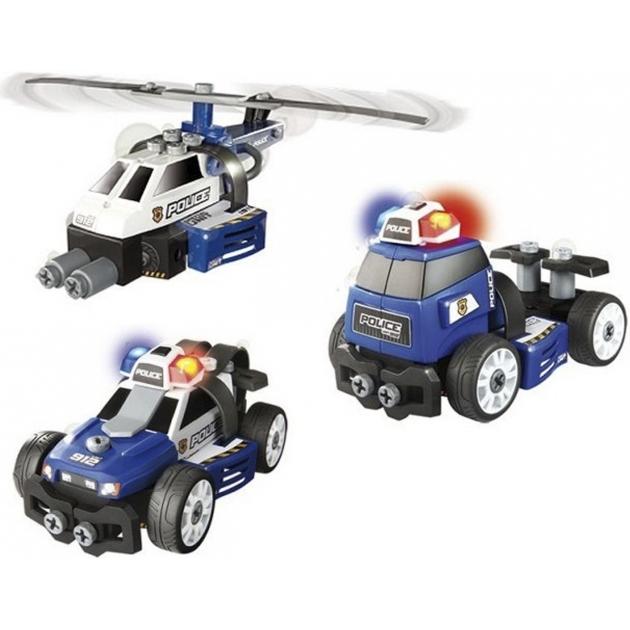 Игровой набор Smoby Конструктор Полиция 3 в 1 500223