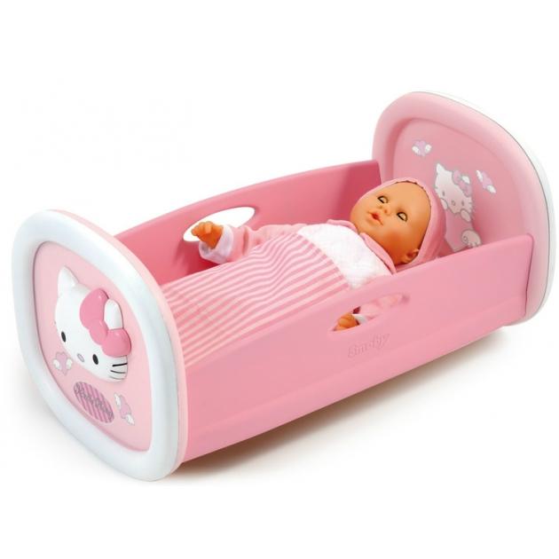 Кроватка для куклы Smoby Hello Kitty 24062