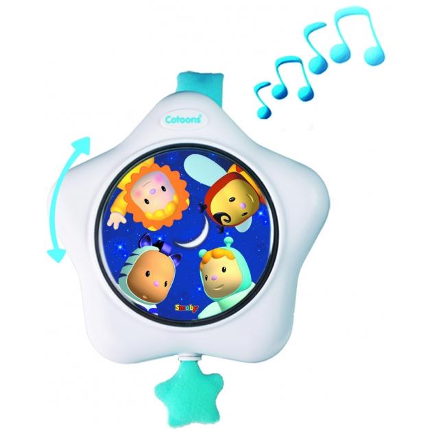 Музыкальная подвеска на кроватку Smoby Синяя 211334