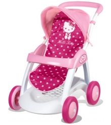 Прогулочная коляска для кукол Smoby Hello Kitty 510134