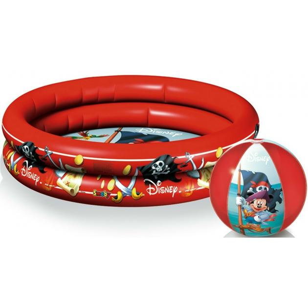 Надувной бассейн Smoby Дисней с пляжным мячом 67279