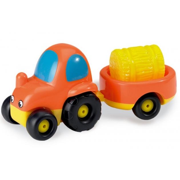 Игрушка Smoby Трактор с прицепом 750027