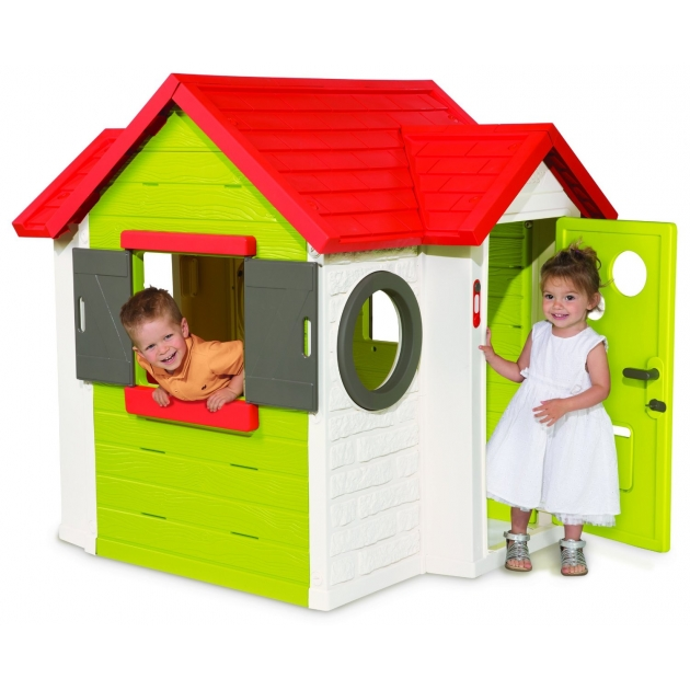 Детский домик Smoby Мой Дом со звонком 810400