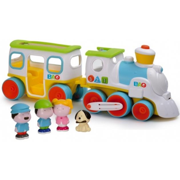 Каталка детская Smoby Обучающий паровозик 827447