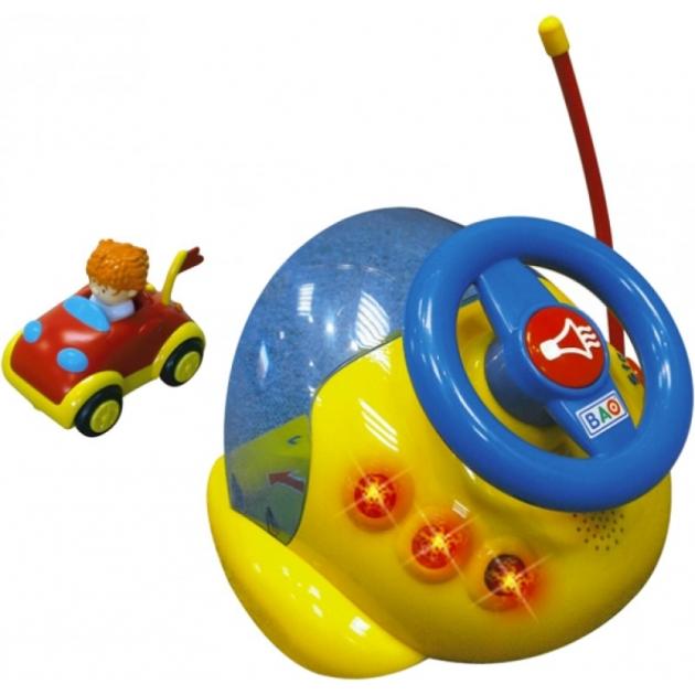 Игровой руль гараж с машинкой Smoby 8302
