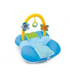 Развивающий коврик надувной Синий Smoby 211279
