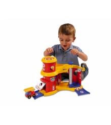 Игровой набор для машинок трек пожарная станция Smoby 211142...