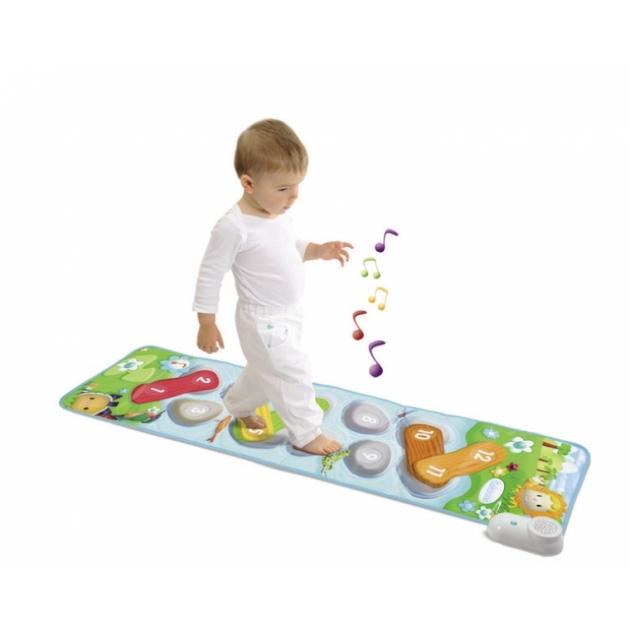 Развивающий коврик Музыкальный Smoby 211144