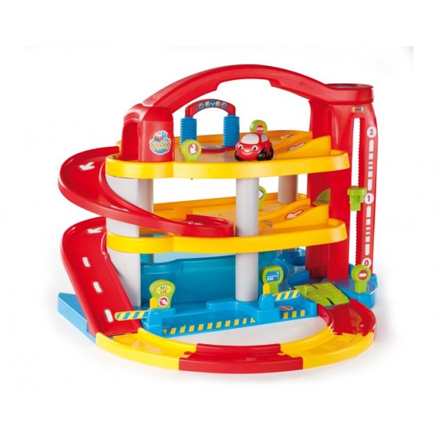 Игровой набор для машинок парковка многоуровневая Smoby 211194