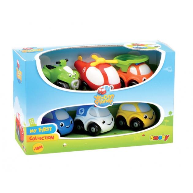 Детская машинка Smoby Vroom Planet 211329