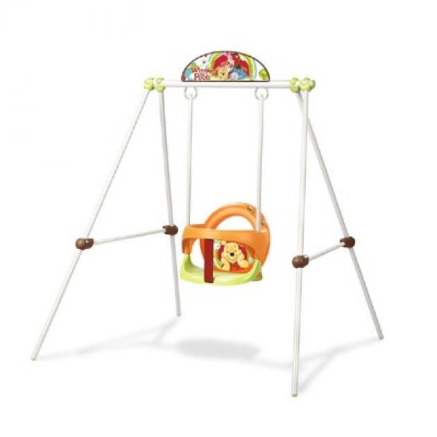 Детские металлические качели Smoby серии Winnie 310225