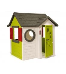 Детский домик для дачи Smoby со звонком 310228