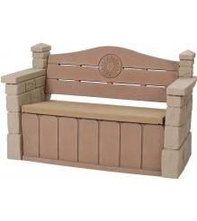 Пластиковый стульчик для улицы с кладовкой Step 2 543300...