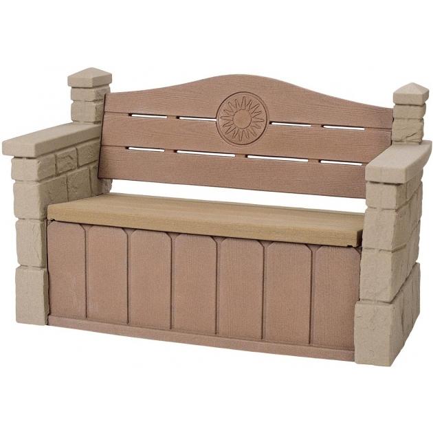 Пластиковый стульчик для улицы с кладовкой Step 2 543300