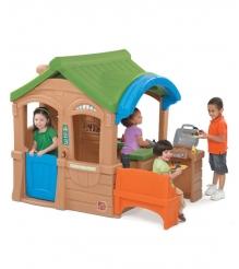 Детский домик для дачи Step 2 с грилем 800100
