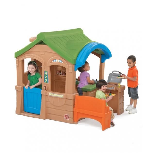 Детский домик Step 2 с грилем 800100