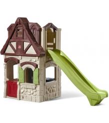 Детский домик Step 2 домик с горкой 8529KR