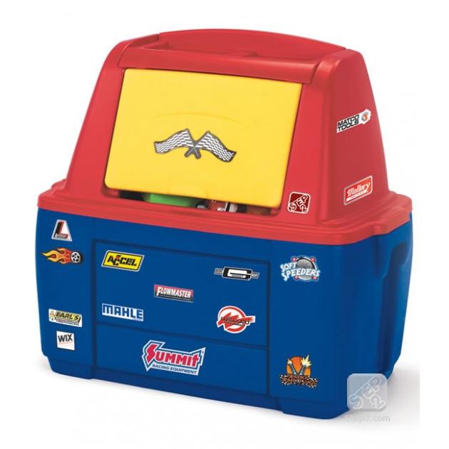 Ящик комод для игрушек Step 2 Маленький Гонщик 766400