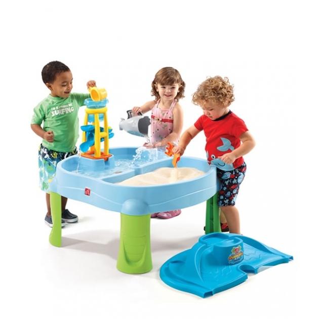 Столик для игр с водой и песком Step 2 Водопад 726700