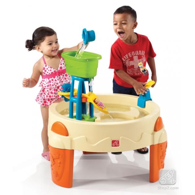 Столик для игр с водой и песком Step 2 Водный Парк 726800