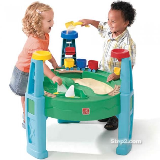 Столик для игр с водой и песком Step 2 Карьер 808000