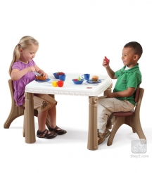 Детский столик и стульчик кухонный  Step 2 810600