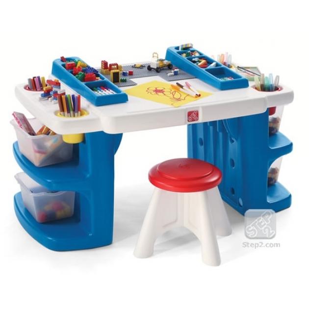 Детский столик и стульчик стол Создатель 811700 Step 2