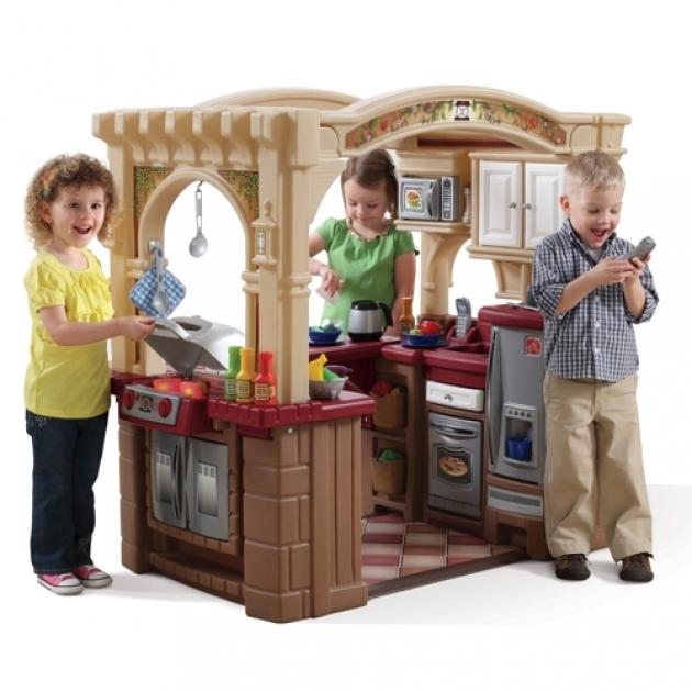 Детская кухня Step2 Веселые поварята с грилем 821400