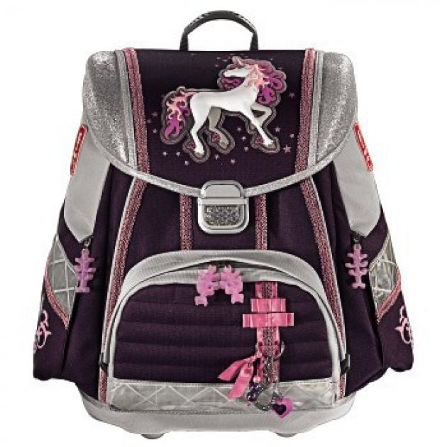 Ранец Touch Unicorn полиэстер фиолетовый/серый Step By Step