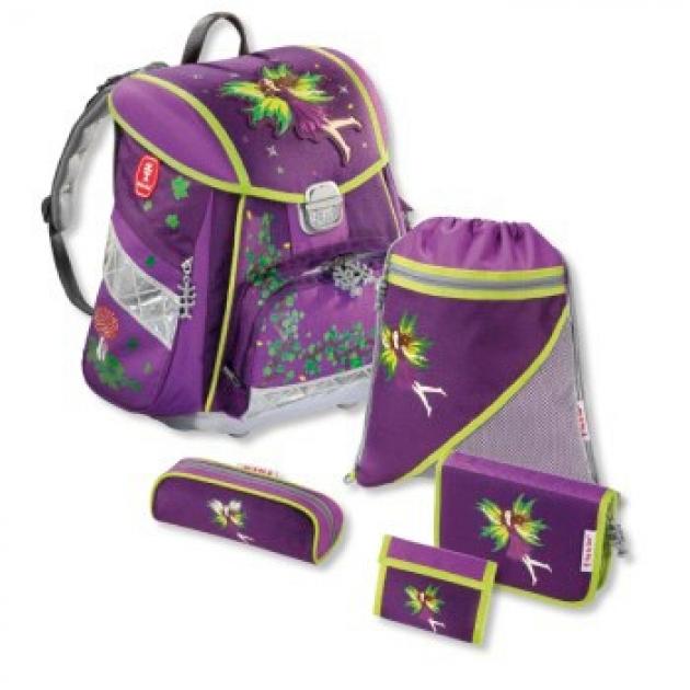 Ранец Touch Purple Fairy полиэстер фиолетовый/рисунок Step By Step