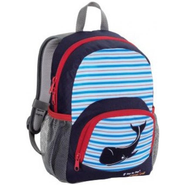 Рюкзак детский Junior Dressy Blue whale синий/голубой Step By Step 00119680
