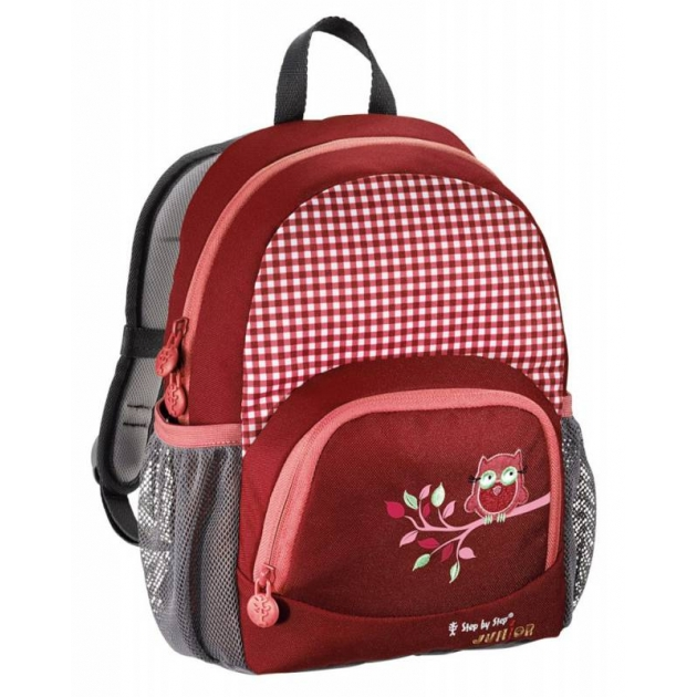 Рюкзак детский Junior Dressy Cute owl красный/розовый Step By Step 00129054