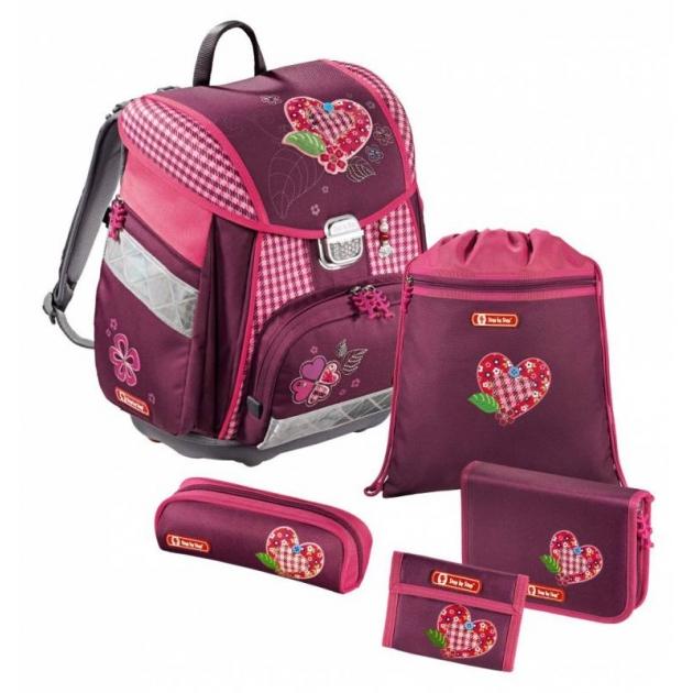 Ранец Touch Tweedy Hearts полиэстер розовый/рисунок Step By Step