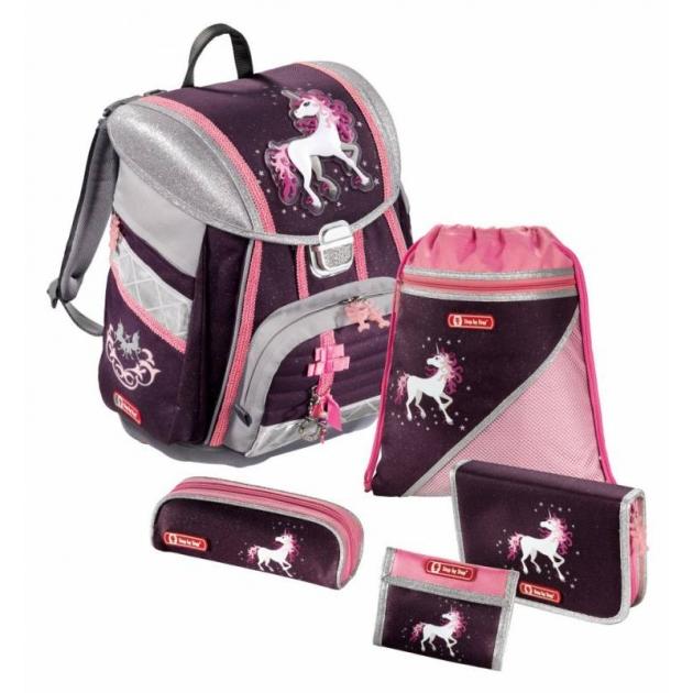Ранец Touch Unicorn полиэстер фиолетовый/розовый Step By Step