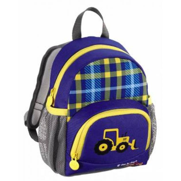 Рюкзак детский Junior Little Dressy Excavator синий/желтый Step By Step 00129120