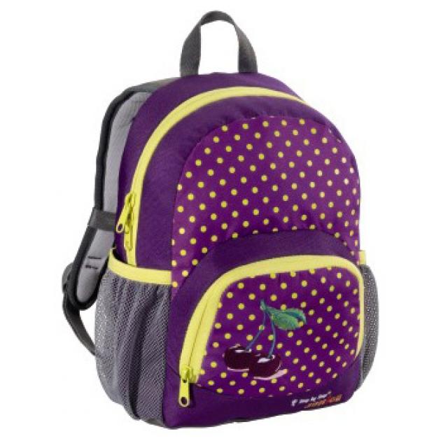 Рюкзак детский Junior Dressy Purple cherry фиолетовый/желтый Step By Step 892949