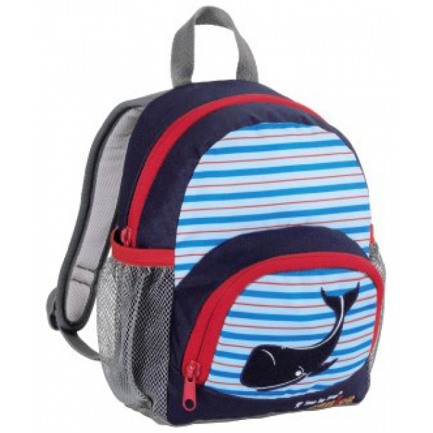 Рюкзак детский Junior Little Dressy Blue whale синий/голубой Step By Step 892955