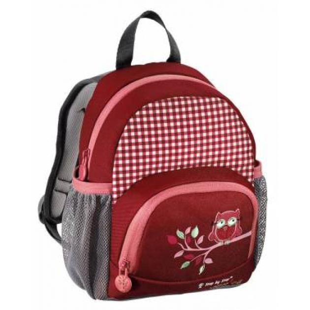 Рюкзак детский Junior Little Dressy Cute owl красный/розовый Step By Step 921129
