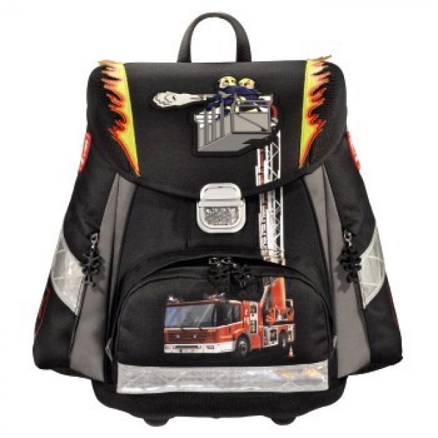 Ранец Touch Fire Engine полиэстер черный/рисунок Step By Step