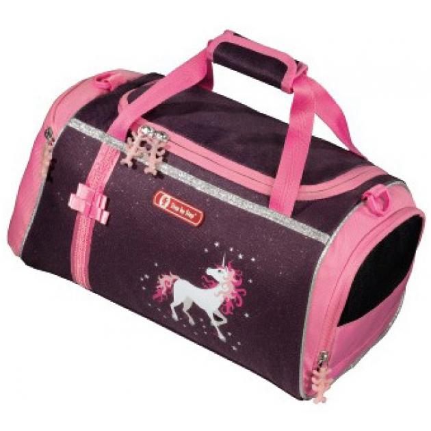 Сумка спортивная Unicorn полиэстер фиолетовый/розовый Step By Step 00119894