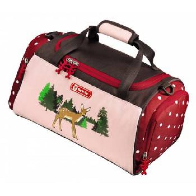 Сумка спортивная Lovely Deer полиэстер розовый/рисунок Step By Step 00129082