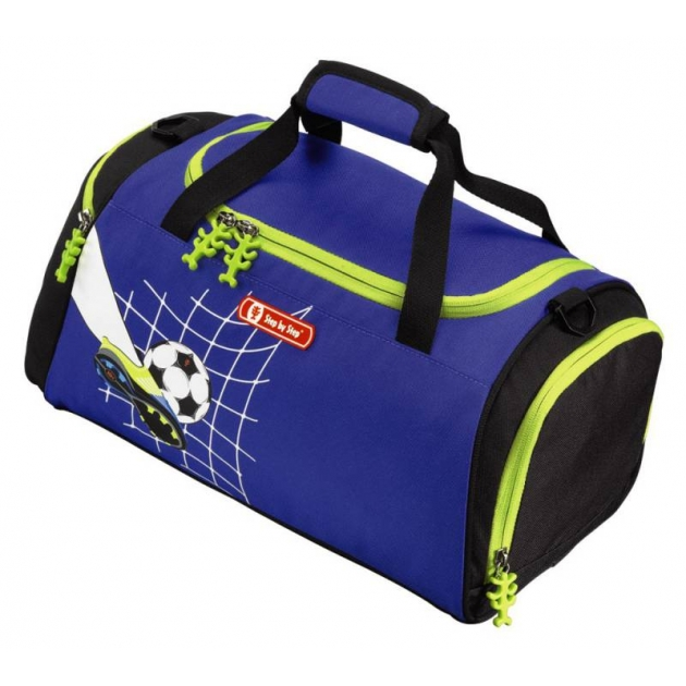 Сумка спортивная Top Soccer полиэстер синий/рисунок Step By Step 00129109