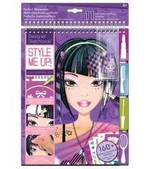 Альбом с трафаретами Style Me Up Идеальный макияж 1421...