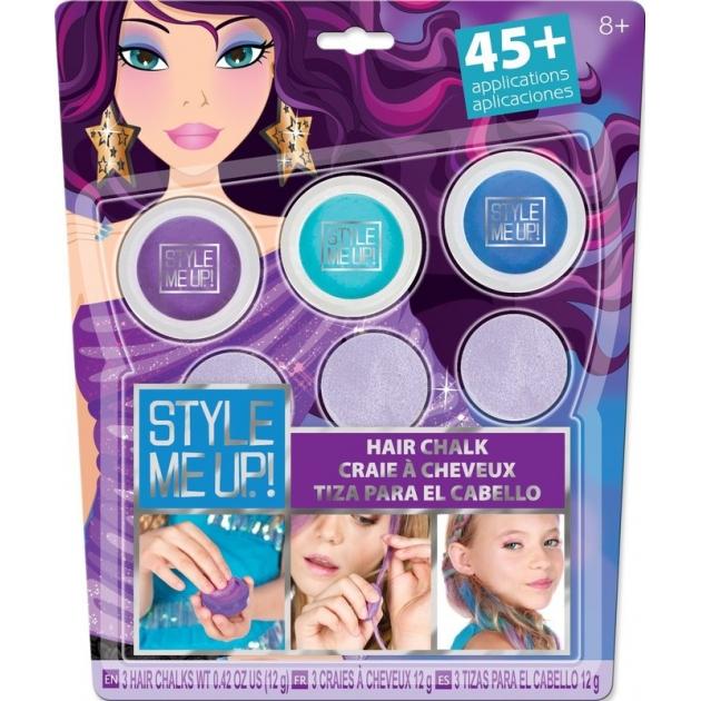 Радужные мелки для волос Style Me Up 1627