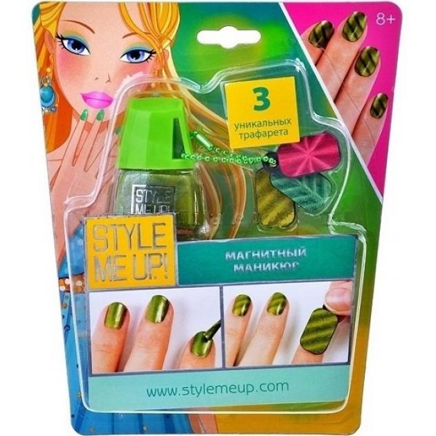Набор для украшения ногтей Style Me Up Магнитный маникюр 1658