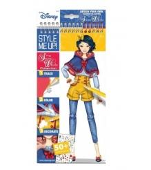 Блокнот с трафаретами Style Me Up Disney Коллекция Белоснежки 2202...