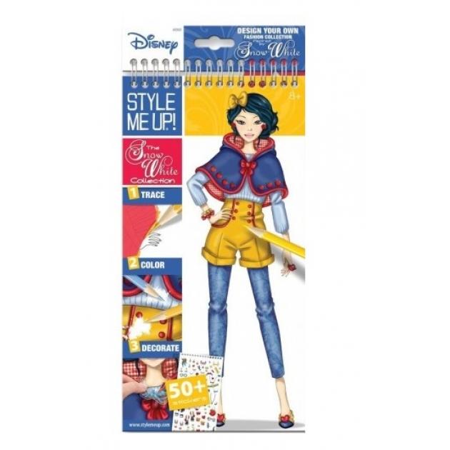 Блокнот с трафаретами Style Me Up Disney Коллекция Белоснежки 2202