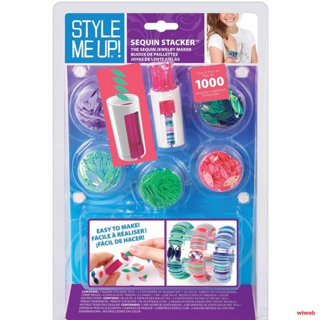 Набор Style Me Up Браслеты из резиночек и страз 310