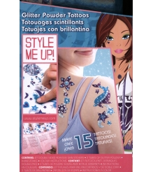 Набор Style Me Up Сверкающие татуировки из пудры 551...