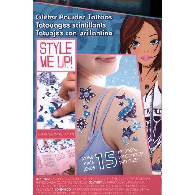 Набор Style Me Up Сверкающие татуировки из пудры 551